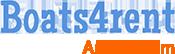 Bootje huren Amsterdam – Boats4rent Bootverhuur Logo