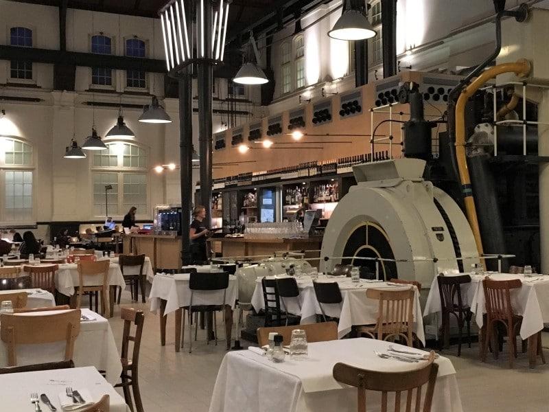 Cafe Restaurant Amsterdam Westerpark nabij Boats4rent Bootverhuur