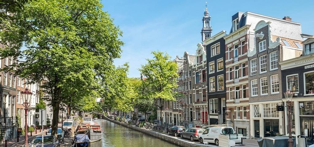 De mooiste gracht van de Amsterdamse Jordaan is de Bloemgracht
