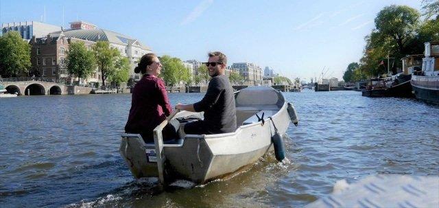 Sloep / bootje huren in Amsterdam bij Boats4rent Bootverhuur
