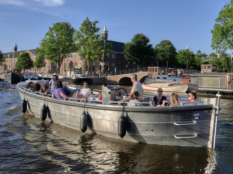 Sloep huren Amsterdam