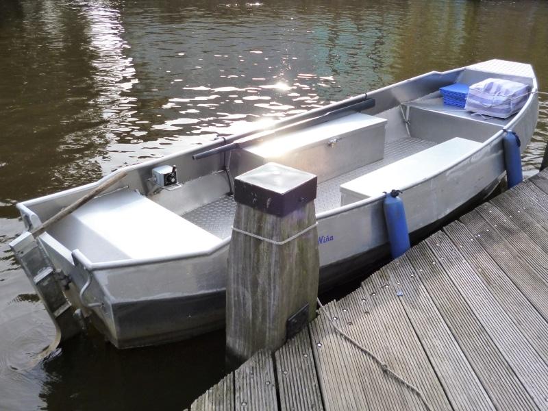 Fluisterboot huren Amsterdam grachten